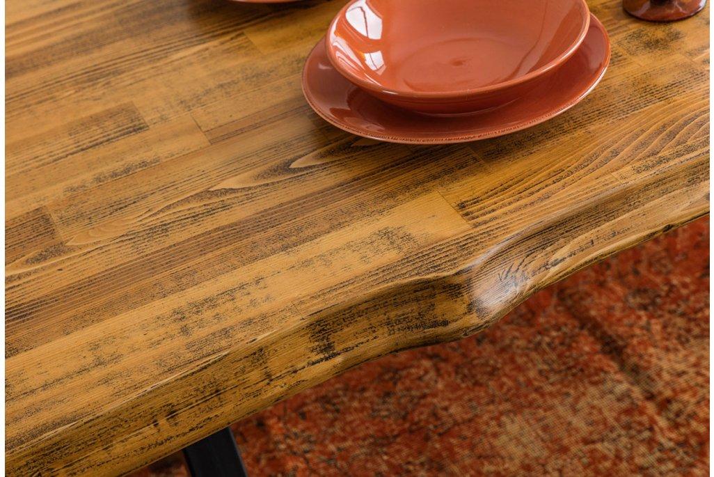 Wooden Ladin Ahşap Yemek Odası Takımı