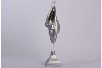 Deniz Kabuğu Küçük Dekoratif Obje Gümüş