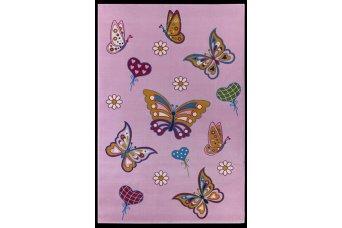 Kelebek Çocuk Halısı