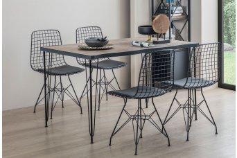 Manavgat Mutfak Masa Takımı 4 Tel Sandalyeli