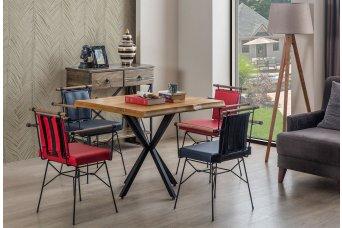 Munch Ladin Ahşap Mutfak Masa Takımı