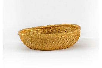 Sepet Dekoratif Obje Gold