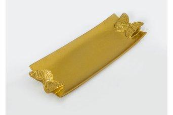 Sunumluk Dekoratif Obje Gold