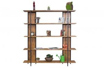 Wooden Kitaplık